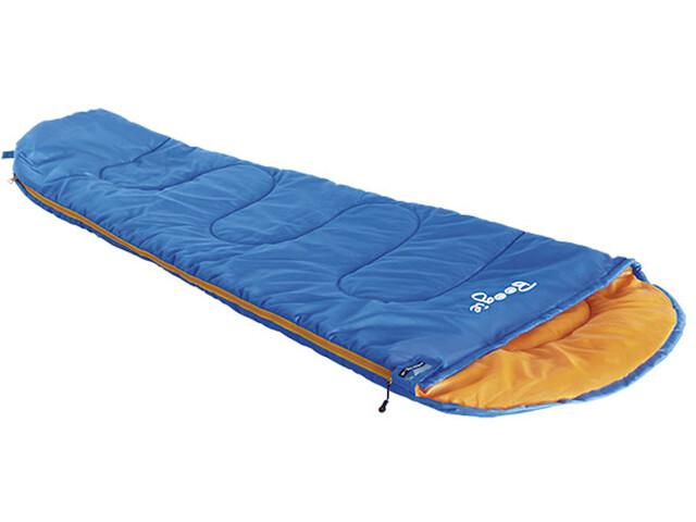 High Peak Boogie Saco de Dormir, azul/naranja